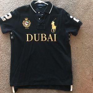 Men's Dubai Shirt Polo Medium Ralph Lauren Size wmN8nv0
